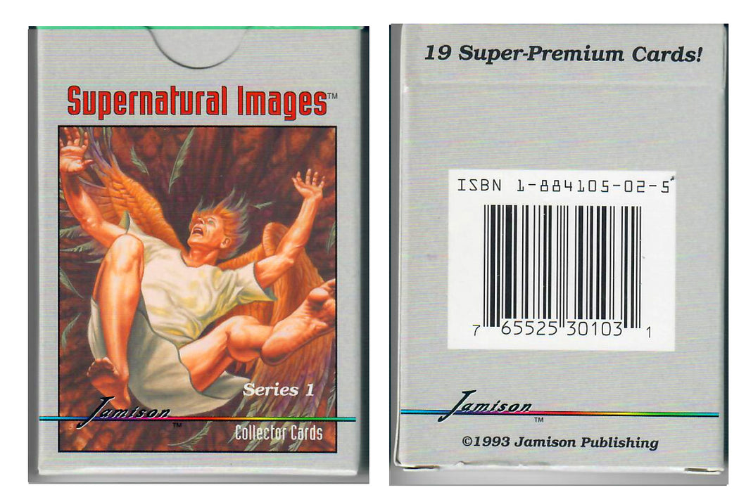 Jamison Collector Cards - The Bible Series - 19 Card Boxed Set - Supernatural Images
