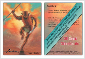 Jamison Collector Cards - The Bible Series - Promo Card - The Attack