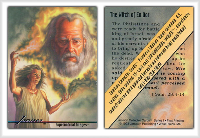 Jamison Collector Cards - The Bible Series - Promo Card - The Witch of En Dor