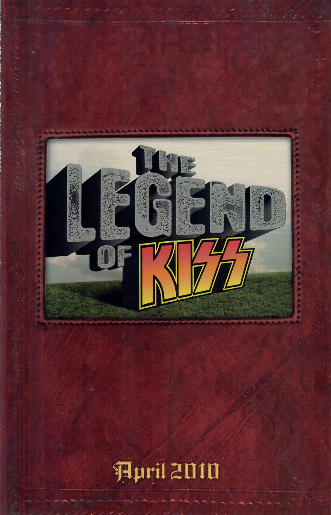 Sell Sheet - KISS - The Legend of Trading Cards Collection - Fold Open Sell Sheet