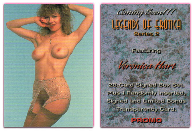 Silver Star - Legends of Erotica II - Veronica Hart - Promo Card