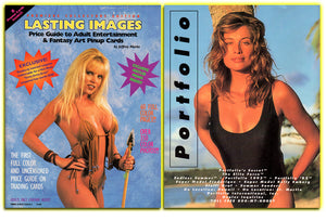 LASTING IMAGES - Volume I - Adult & Fantasy Trading Card Price Guide Magazine