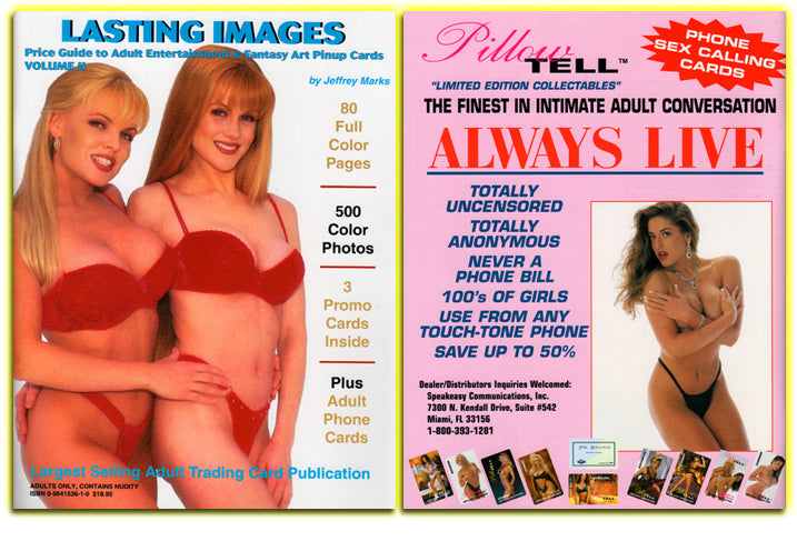 LASTING IMAGES - Volume II - Adult & Fantasy Trading Card Price Guide Magazine