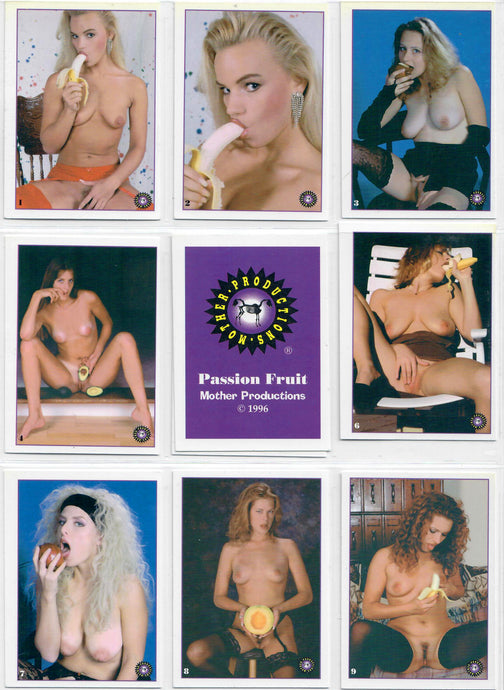 Mother Productions - Passion Fruit - Complete 32 Card Set + Checklist + Cover Card
