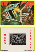 Load image into Gallery viewer, Mars Attacks - Renata Galasso - 1984 - 4 Card Jumbo Promo  Card Set