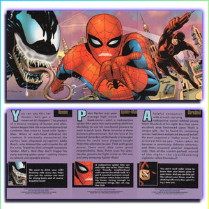 Marvel - Got Milk - 9 Card Triple Puzzle Promo Card Set