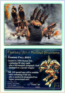 Michael Bruinsma - The Fantasy Art of - Nostalgia Cards - Promo Card P2