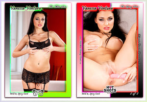 Climax Cards - Hot Shots MILD & SPICY Jumbo Keepsake Card - VANESSA VENTURA