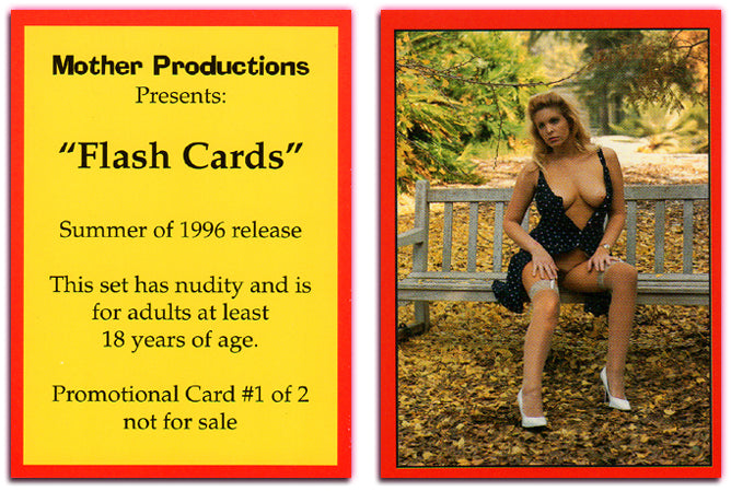 Mother Productions - Flash Cards - Promo Card #1 of 2