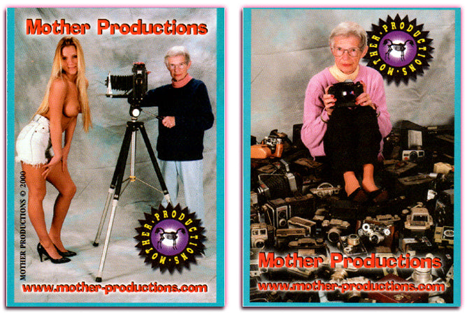 Mother Productions - Double Headed Horse Logo / With Mother Herself - Promo Card