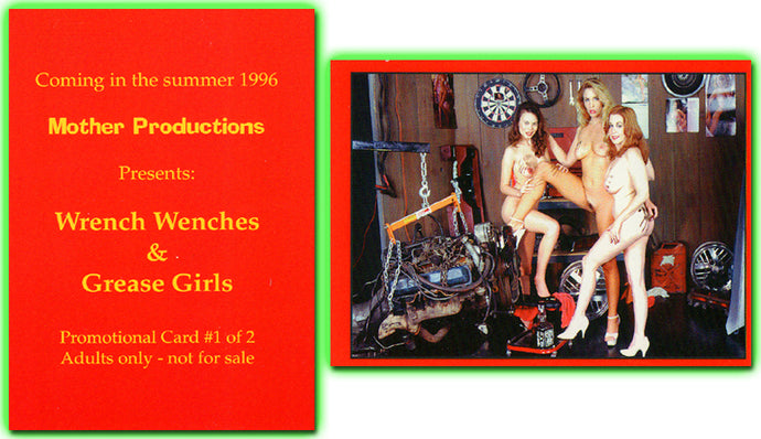 Mother Productions - Wrench Wenches & Grease Girls - Promo Card #1 of 2