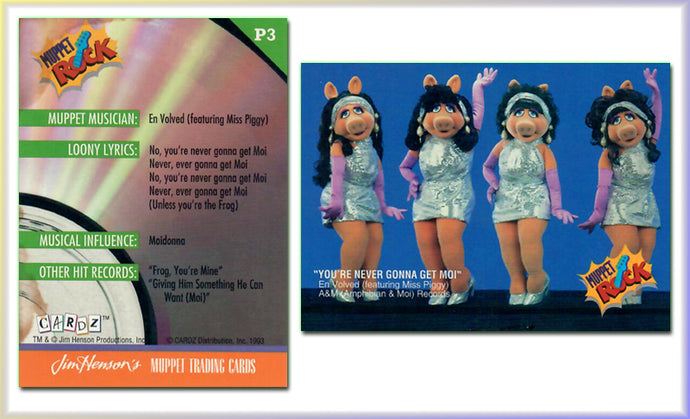 Muppets - Miss Piggy - You're Never Gonna Get Moi - Promo Card P3