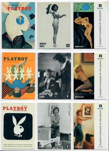 PLAYBOY - CENTERFOLDS - APRIL Collection - Complete Base Set + Previews Set + Checklists