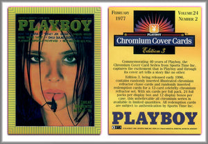 PLAYBOY - Chromium - Promo Card P3 - 1995 - Sports Time