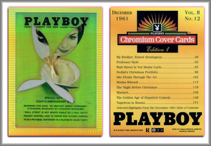 PLAYBOY - Chromium - REFRACTOR Chase Card R23