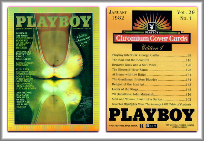 PLAYBOY - Chromium - REFRACTOR Chase Card R65