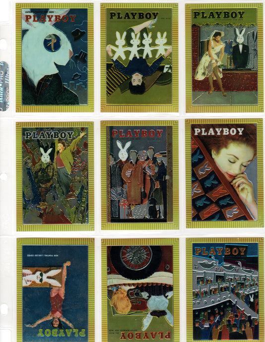 PLAYBOY - Chromium - SERIES 1 - Complete 100 Card Set