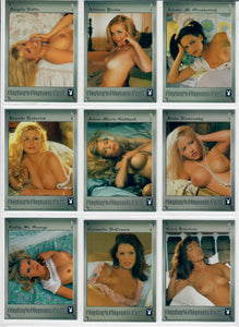 PLAYBOY - PLAYMATE VAULT - Complete 76 Card Silver Foiled Set