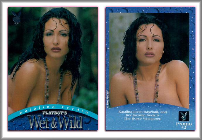PLAYBOY - WET & WILD - Promo Card #2