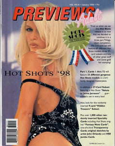 PREVIEWS - Adult - Adult Trading Card Guide & Index Magazine - Vol VIII #1 - Jan 1998