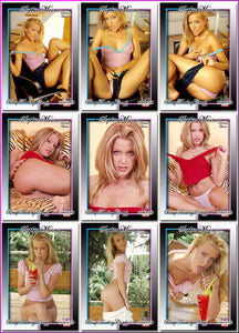 Pinup Trading Cards - 9 Card Puzzle Set - SOPHIE MOONE
