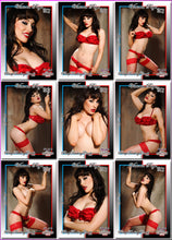 Load image into Gallery viewer, Pinup Trading Cards - 9 Card Puzzle Set - VICTORIA PAGE
