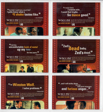 Load image into Gallery viewer, PULP FICTION - Suncoast 2002 - 6 Card Movie Promo Set