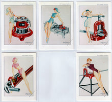 Load image into Gallery viewer, The Petty Girl - RIGID TOOLS - 5 Card Chase Set - George Petty Classic Pinups - 21st Century Archives