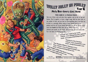 Willy Nilly in Philly - Philly Non-Sports Card Show MARS ATTACKS Promo Card 1 of 2 - #26