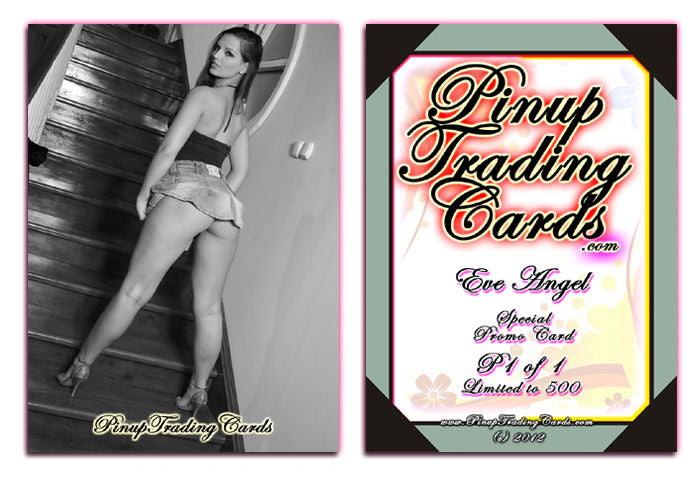 Pinup Trading Cards - Special Promo P1 of 1 - EVE ANGEL - V2