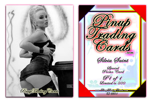 Pinup Trading Cards - Special Promo P1 of 1 - SILVIA SAINT