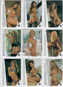 Playboy - Fine & Foxy - 10 Card Gold Foil Subset