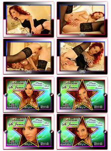 Climax Cards - Hot Shots - 4 Card Jumbo Keepsake SET - SCARLETT St JAMES - Sweet Surrender