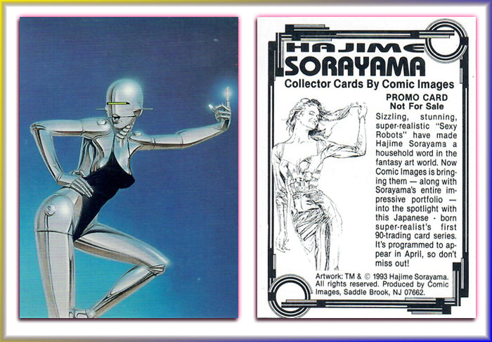 SORAYAMA - Collector Cards - 1993 Comic Images - Promo Card
