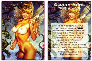 Silver Star - THE FANTASY SERIES - Gloria Anne - Promo Card