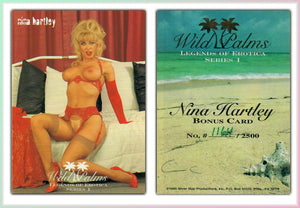 Silver Star - Wild Palms - Legends of Erotica - Nina Hartley - Limited Edition Bonus Card (1164)