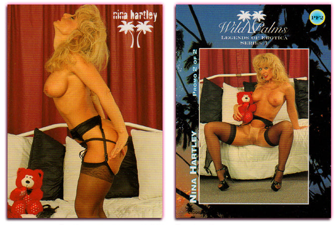 Silver Star - Wild Palms - Legends of Erotica - Nina Hartley - Promo Card PF2
