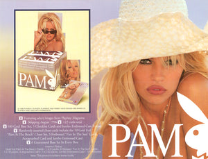 Sell Sheet - PLAYBOY - PAM Anderson Trading Cards - Counter Slick