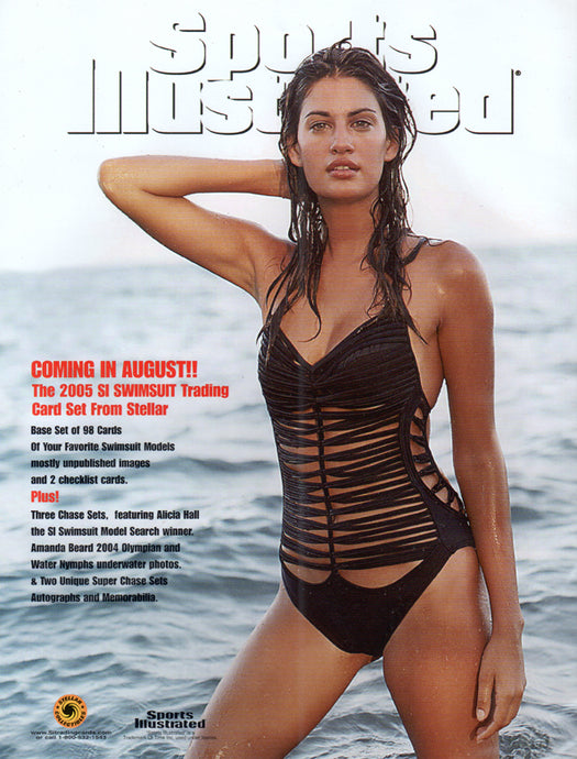 Sell Sheet - SPORTS ILLUSTRATED -  Swimsuit 2005  -  Counter Slick