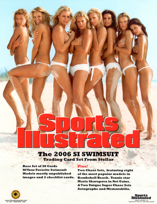 Sell Sheet - Sports Illustrated Swimsuit 2006 -  Stellar - Counter Slick