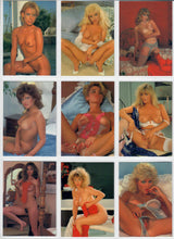 Load image into Gallery viewer, Skintight - XXX-Stars - Complete 18 Card Set - Ultravision - Jeanette Littledove Autographed Card 6
