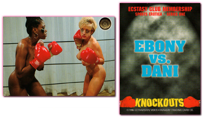 Ultravision - Sports Erotica - Ebony vs. Dani - Ecstasy Club Membership Card