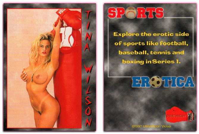 Ultravision - Sports Erotica - Tina Wilson - Preview Card