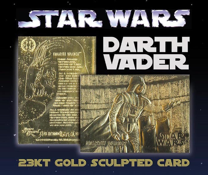 Star Wars - Limited Edition 23kt Gold Card - Darth Vader