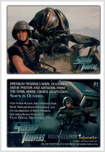 Storm Troopers - Inkworks - Movie Promo Card P1