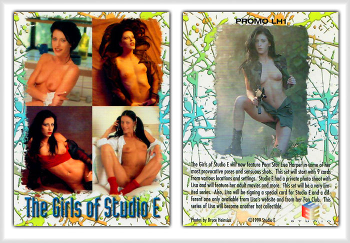 The Girls of Studio E - Lisa Harper - Promo Card - LH1
