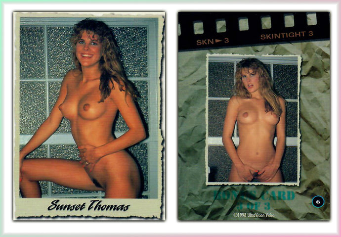 Ultravision - Sunset Thomas - Skintight Series 3 - Bonus Card 3 of 3