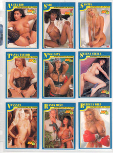 SuperStars of Porn - Knight Publishing - Complete 18 Card Set - Series 7