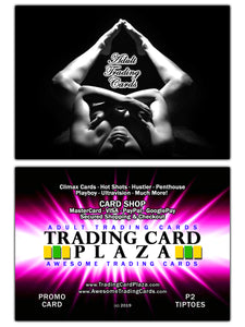 Trading Card Plaza / Awesome - Adult Trading Cards - Promo Card - P2 Tiptoes