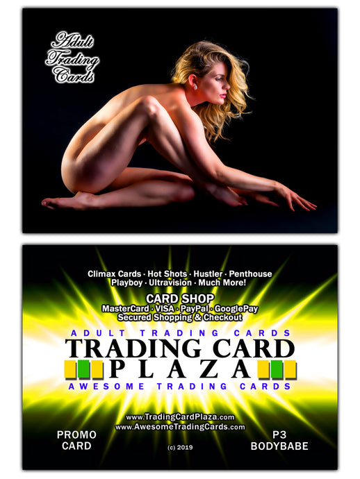 Trading Card Plaza / Awesome - Adult Trading Cards - Promo Card - P3 BodyBabe